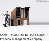 Some Tips on How to Find a Good Property Management Company